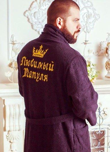 Вышивка на халате в самаре